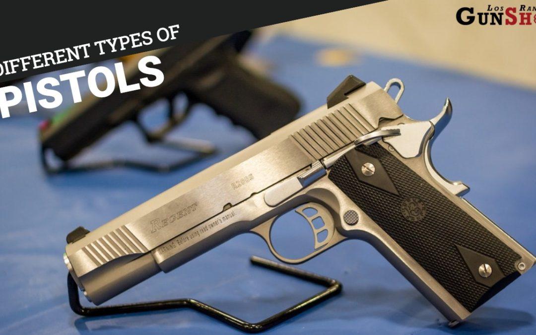 Different Types of Pistols in Albuquerque