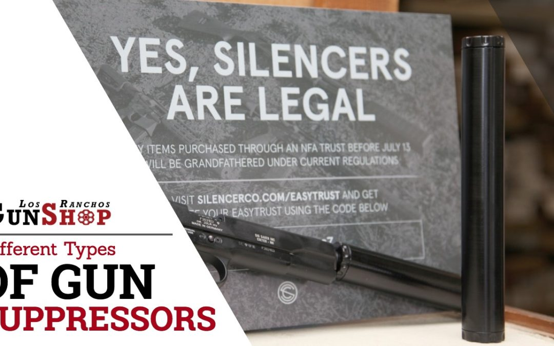Different Types of Gun Suppressors in Albuquerque