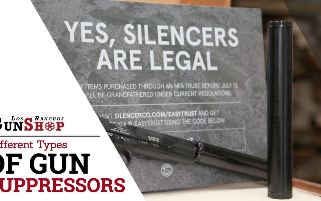 Different Types of Gun Suppressors in Albuquerque