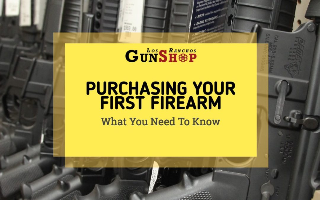 Purchasing Your First Firearm – What You Need to Know